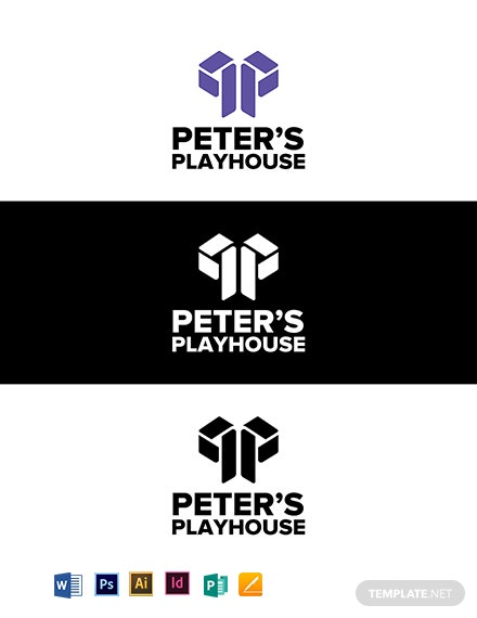 Peter's Playhouse Logo Template