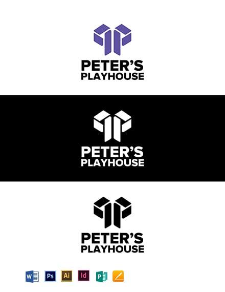 Peter's Playhouse Logo Template