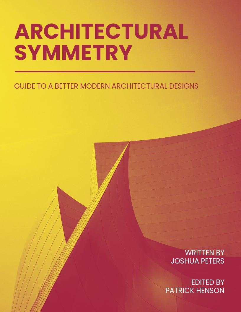 Architecture Book Cover Template