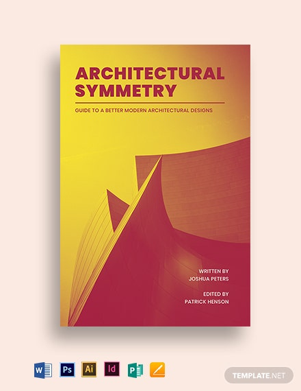 Architecture Book Cover Template
