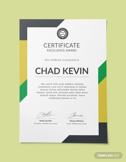 Free Certificate Templates | Free Templates