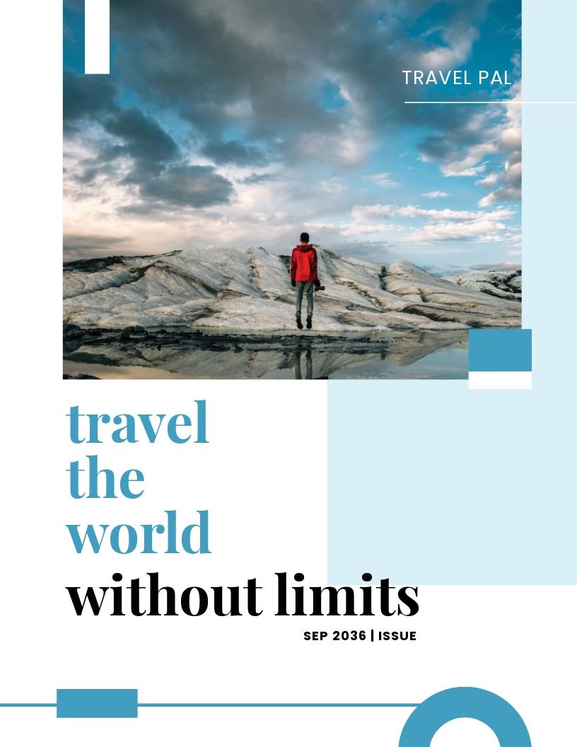 Magazine Book Cover Template