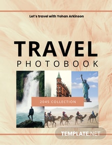 Photo Book Cover Template