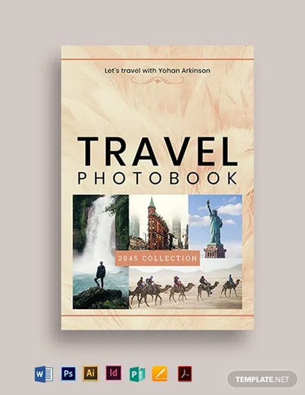 Photo Bookcover Template