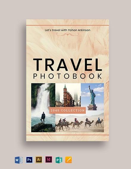 Photo Bookcover Template