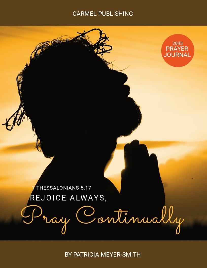 Prayer Journal Book Cover Template