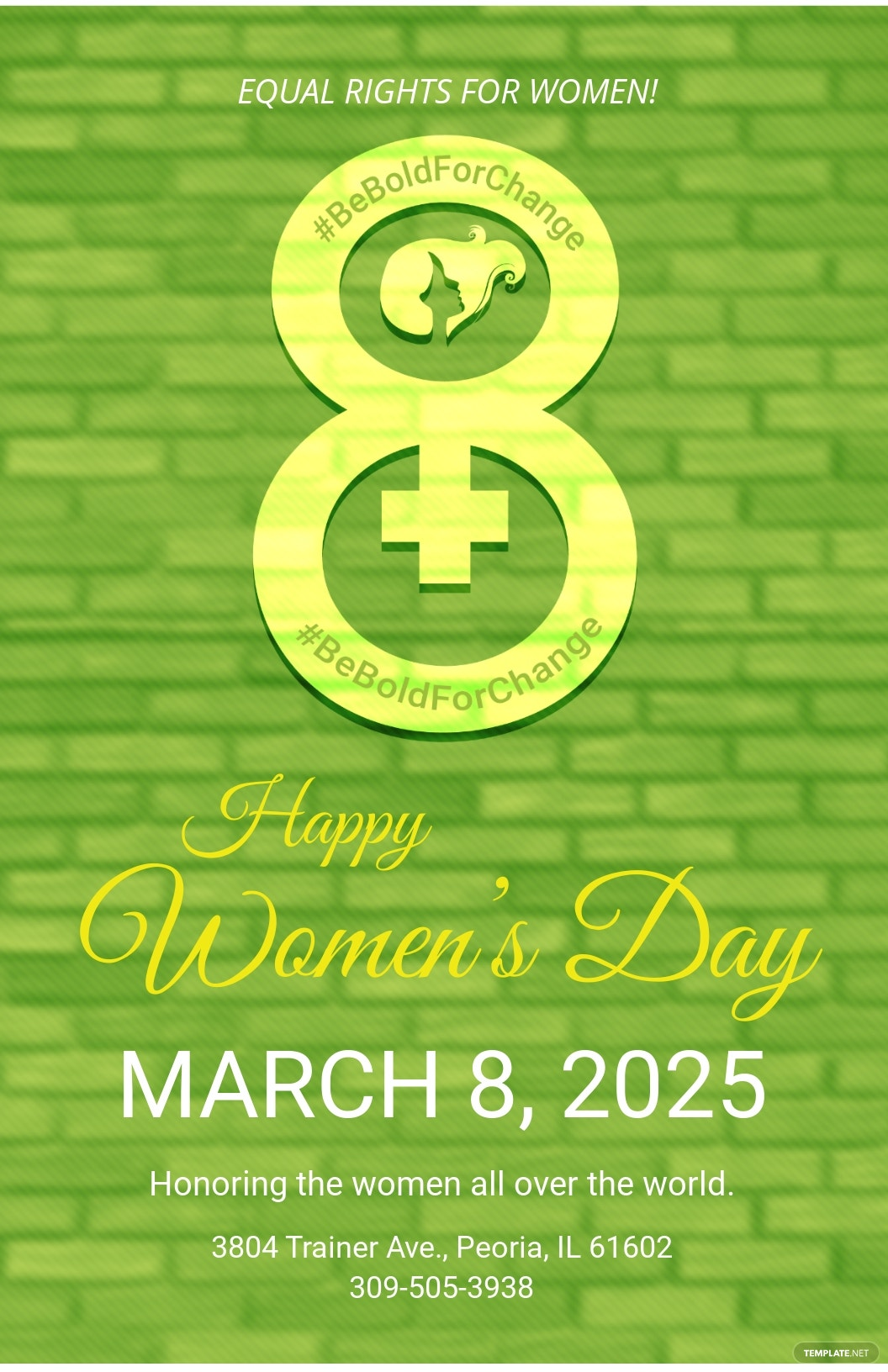 Printable Womens Day Poster