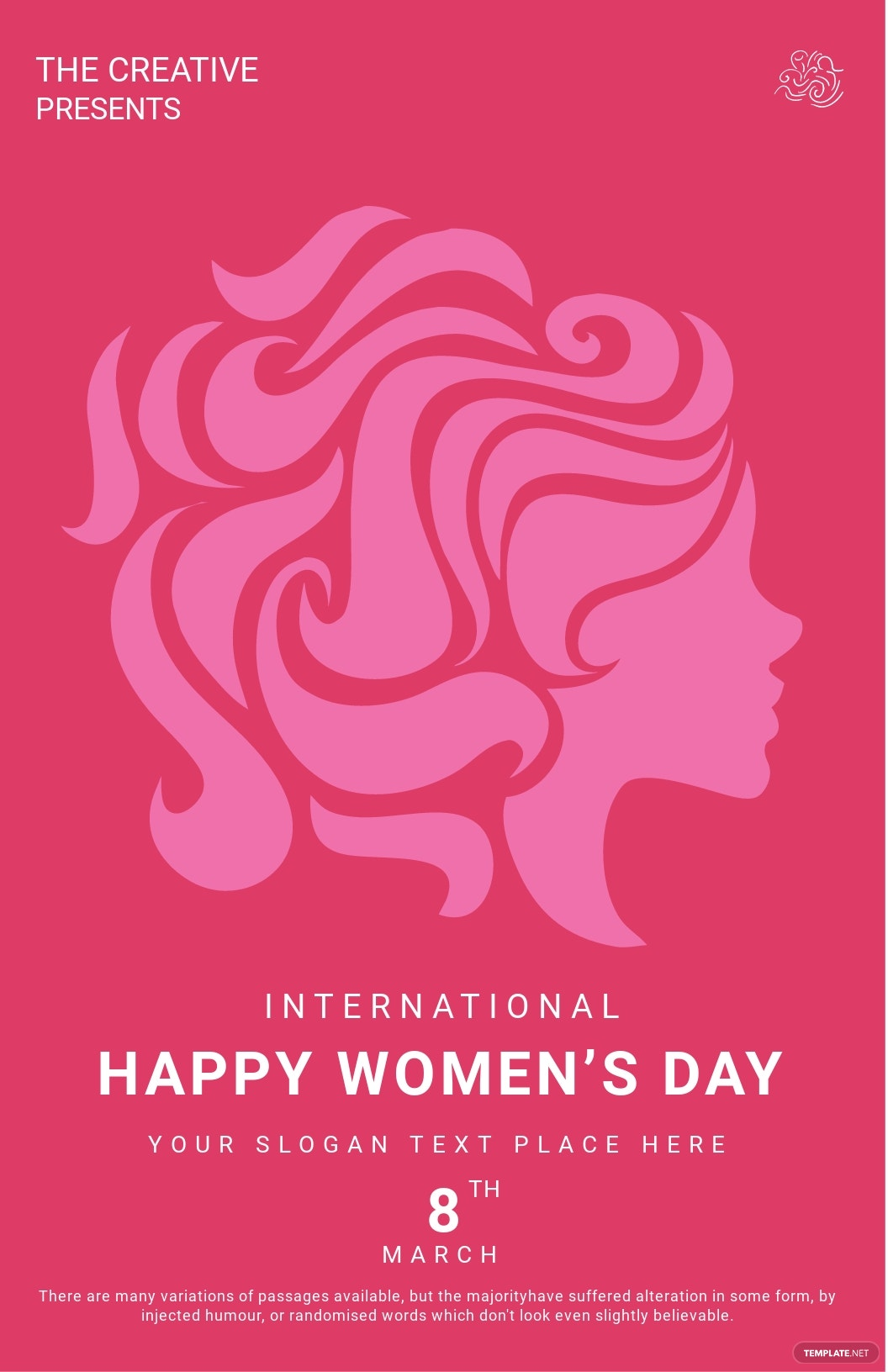Customize Womens Day Poster