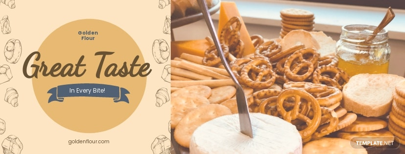 Free Bakery Facebook Cover Page