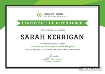 Free workshop attendance certificate template free templates free workshop attendance certificate template yelopaper Image collections