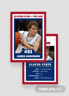 Free Blank Trading Card Template