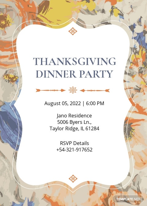 Free Formal Dinner Invitation Template.jpe