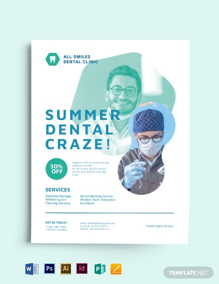 Clinic Promo Flyer Template