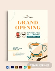 Coffee Menu and Coffee Flyer Template