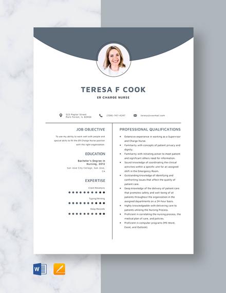 high school nurse resume template
