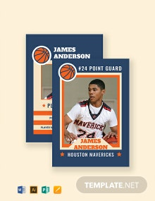 Free Sports Card Template