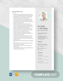 Estate Planning Attorney Resume Template