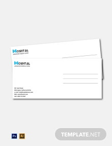 Free Hospital Envelope Template