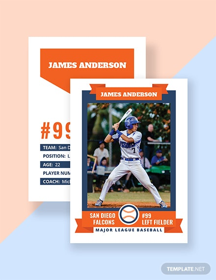 Free Trading Card Template