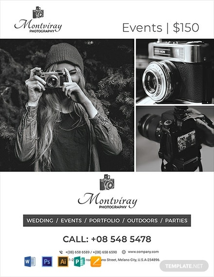 Event Photography Flyer Template