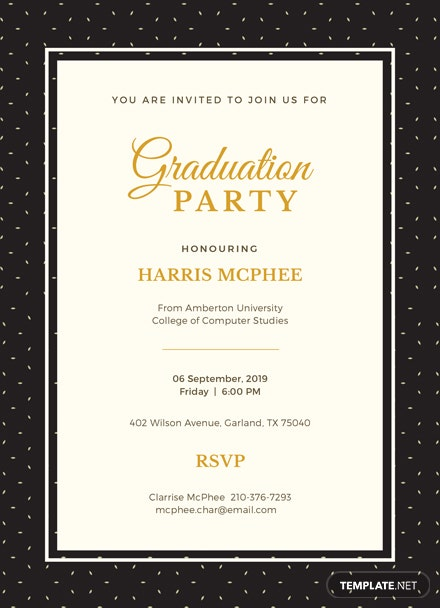 Free graduation invitation template download 344 invitations in free graduation invitation template download 344 invitations in psd illustrator word publisher apple pages template filmwisefo