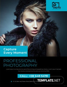 Multipurpose Photography Flyer Template