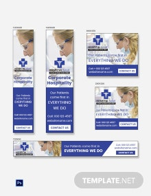 Free Healthcare Ad Banner Template