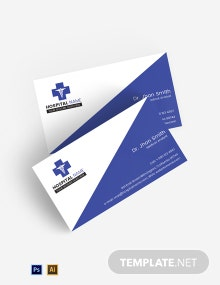 Free Healthcare Business Card Template
