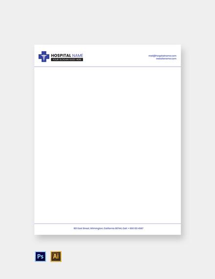 Free Healthcare Letterhead Template