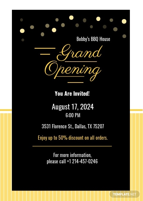 Free Grand Opening Invitation Card Template.jpe