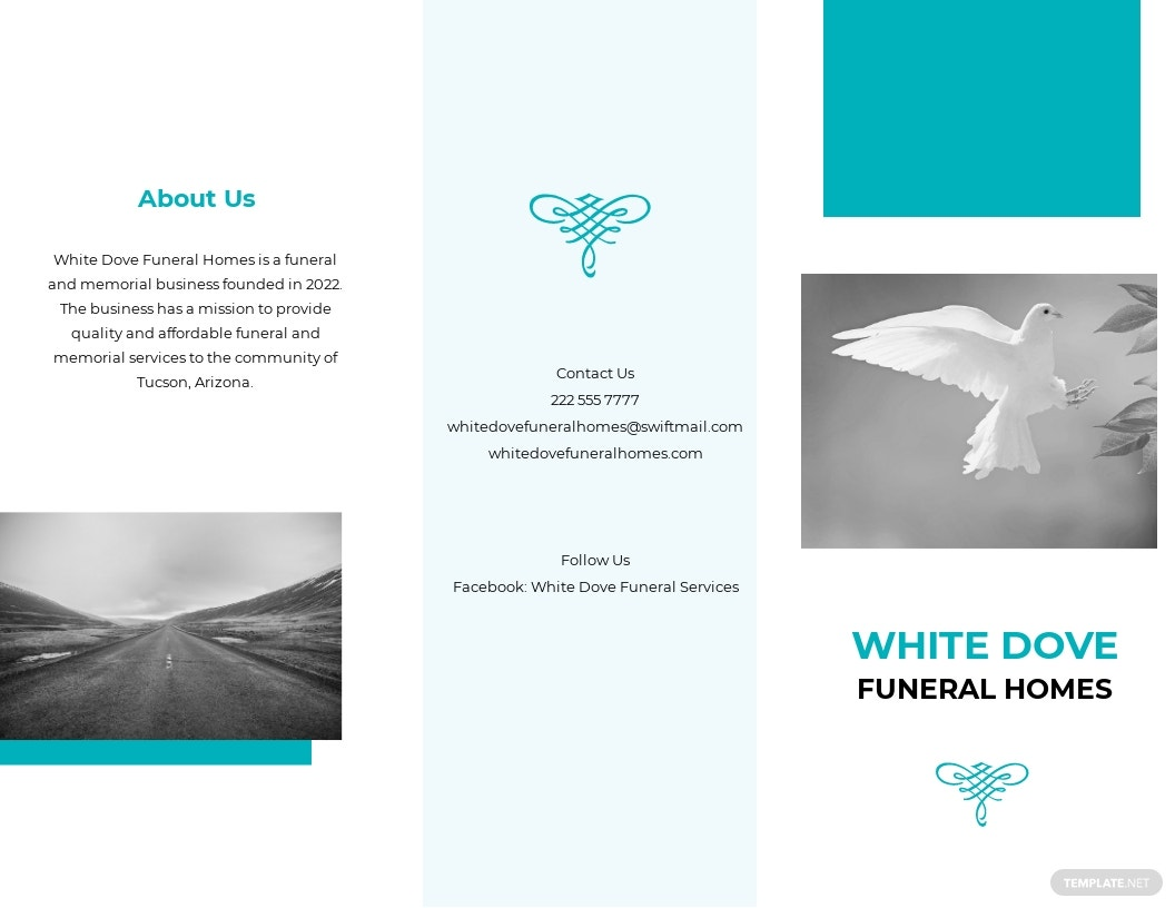 Funeral Home Services Tri Fold Brochure Template.jpe