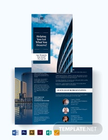 Independent Real Estate Agent/Agency Bi-Fold Brochure Template