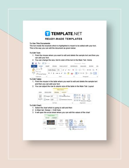 Simple Academic Calendar Instructions