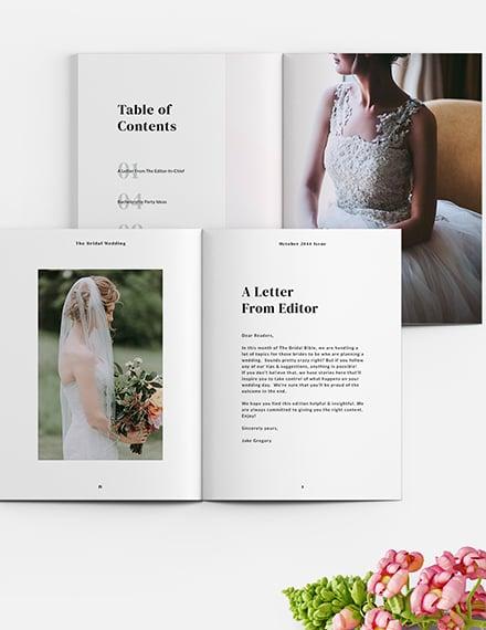 Bridal Magazine Download