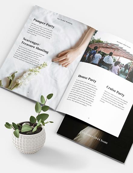 Sample Bridal Magazine