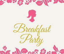 Free Ladies Breakfast Invitation Template