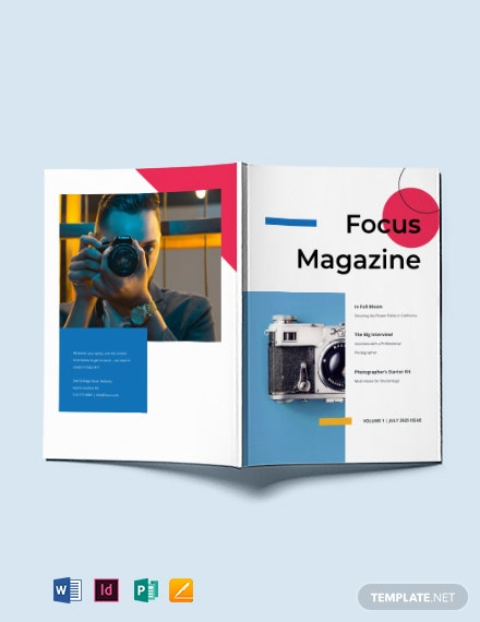 Creative Photography Magazine Template