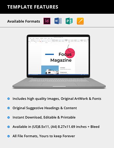 Editable Creative Photography Magazine