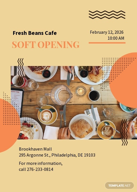 Cafe Soft Opening Invitation Template.jpe