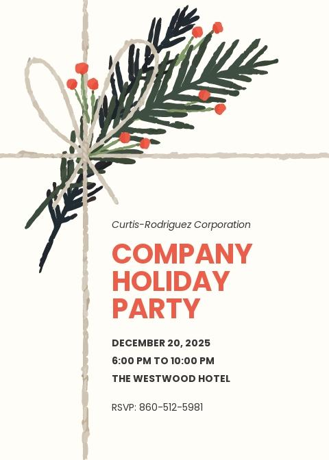 Company Holiday Party Invitation Template.jpe