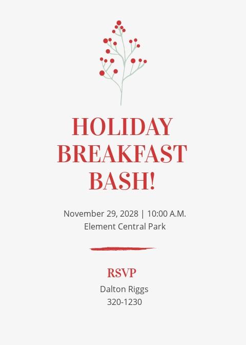 Holiday Breakfast Invitation Template.jpe