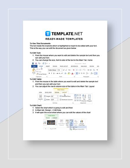 Financial Accounting Calendar Instructions