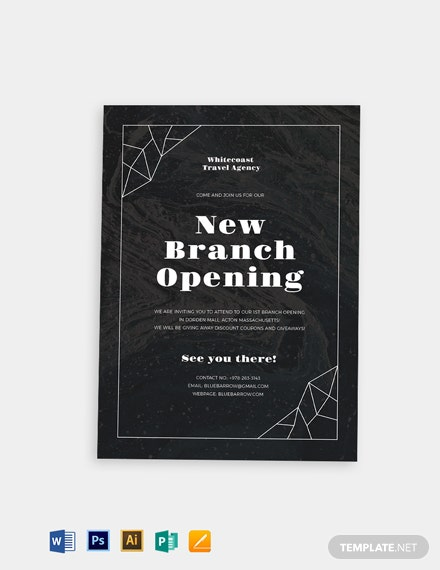 Opening Invitation Template