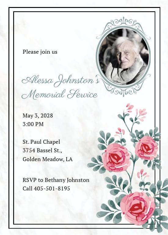 Memorial Service Invitation Template.jpe