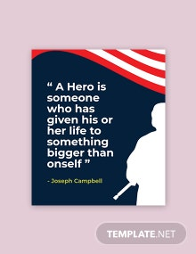 Free Armed Forces Day Quote template