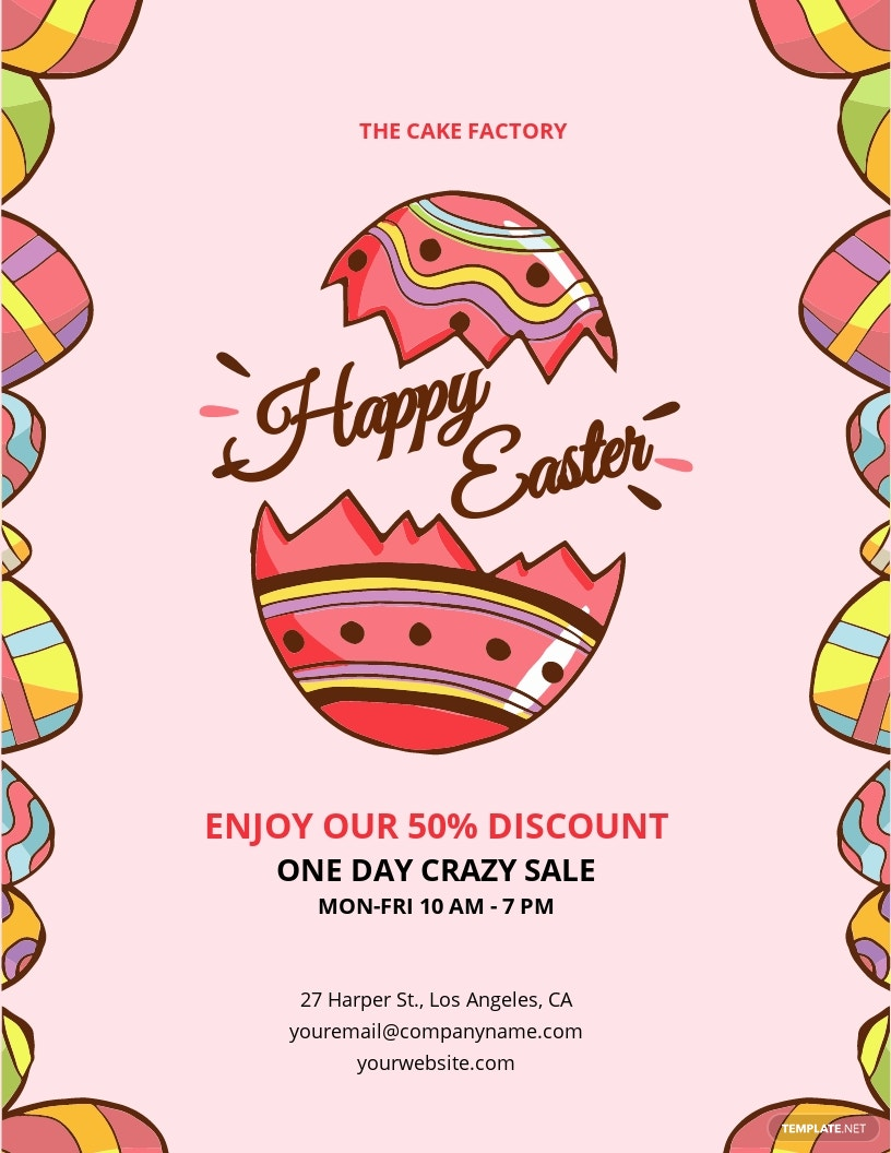 Easter Day Flyer Template.jpe