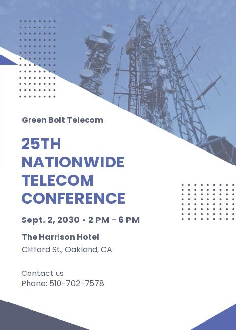 Corporate Conference Invitation Template
