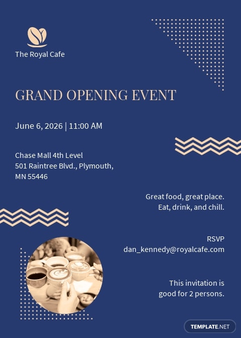 Royal Cafe Opening Invitation Template.jpe