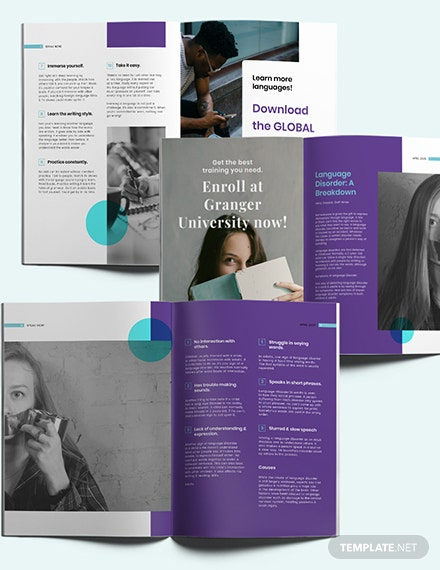Sample Creative Student Magazine