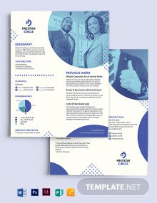 Small Business Media Kit Template